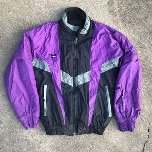VTG Cold Wave Ski Jacket Zip Up Adult Size XS (D)